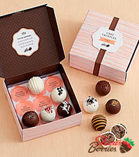 Assorted Cake Truffles - 9 pieces