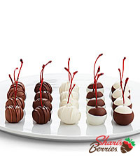 20 Hand-Dipped Cherries