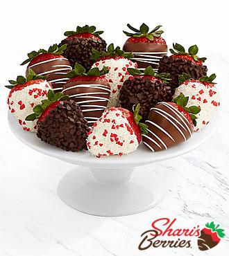 Full Dozen Valentine's Strawberries