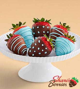 Half Dozen It's a Boy Strawberries