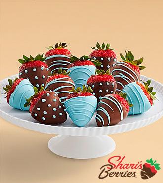 Full Dozen It's a Boy Strawberries