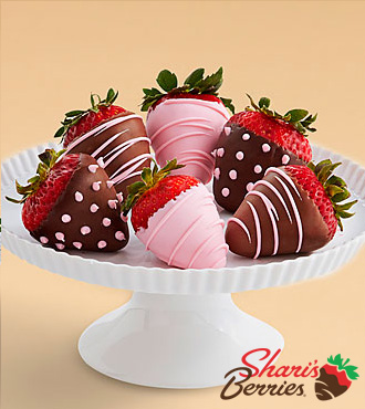 Half Dozen It's a Girl Strawberries