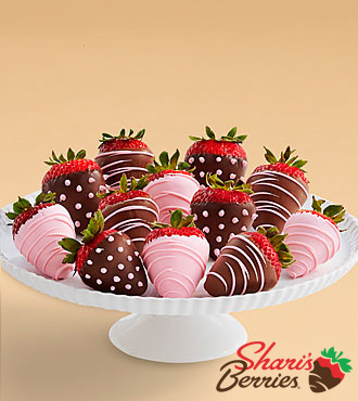 Full Dozen It's a Girl Strawberries