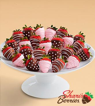 Two Full Dozen It's a Girl Strawberries