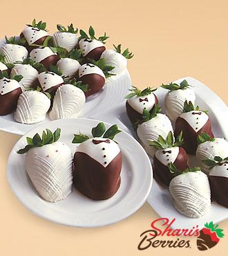 Two Dozen Hand-Dipped Wedding Strawberries