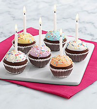 6 Handmade Birthday Brownie Pops