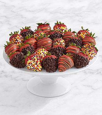 Two Full Dozen Gourmet Dipped Autumn Strawberries