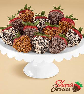 Full Dozen Gourmet Dipped Premium Strawberries