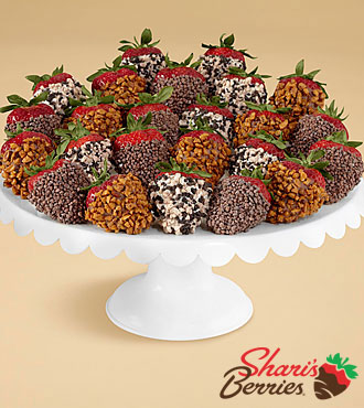Two Full Dozen Gourmet Dipped Premium Strawberries