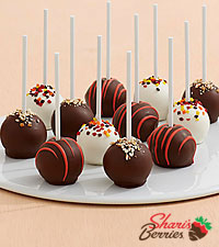 12 Autumn Cake Pops