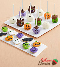 10 Halloween Mini Cookies & 12 Halloween Brownie Pops