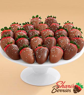 Two Full Dozen Salted Caramel Strawberries