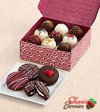 4 Valentine's Oreo®  Cookies & 9 Valentine's Cake Truffles