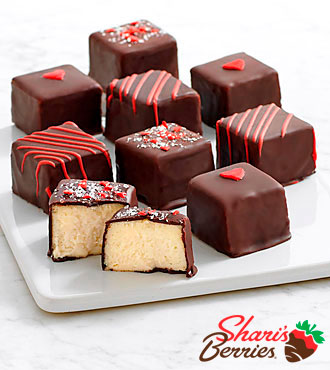 Valentine's Cheesecake Bites - 9 Piece