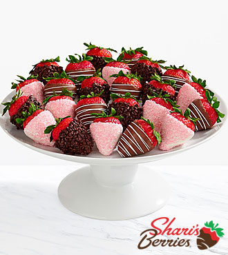 Two Full Dozen Gourmet Dipped Mother's Day Strawberries
