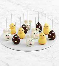 12 Handmade Easter Brownie Pops