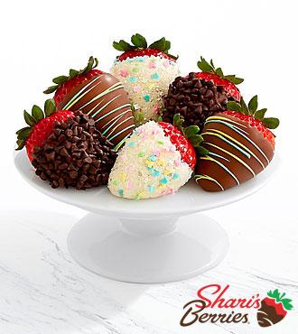 Half Dozen Gourmet Dipped Easter Strawberries