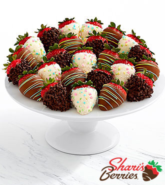 Two Full Dozen Gourmet Dipped Easter Strawberries