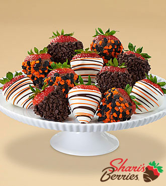 Full Dozen Gourmet Dipped Halloween Berries