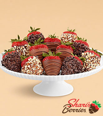 Full Dozen Hand-Dipped Father's Day Strawberries