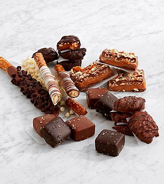 Handmade Caramel & Pretzel Sampler