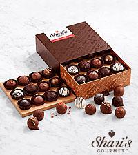 Deluxe Artisanal Chocolate Truffles - 24 Piece