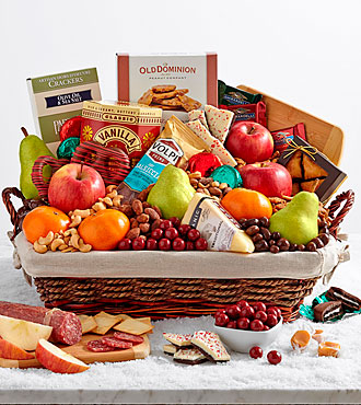 executive holiday gift basket