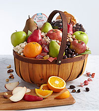 Organic Favorties Fruit Basket