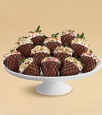 Full Dozen Hand-Dipped Summer Scoop Strawberries