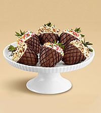 Half Dozen Hand-Dipped Summer Scoop Strawberries