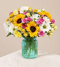 Le bouquet Sunlit Meadows™ - Première qualité