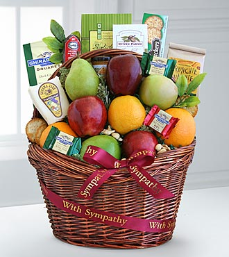Comforting Kindness Fruit Basket - Best