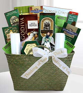 The Irish Wake Sympathy Basket