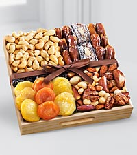 Kosher Dried Fruit & Nut Tray - Small