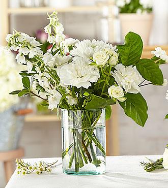 Classic Ivory – Bouquet original du fleuriste