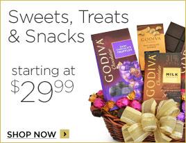Sweets, Treats & Snacks