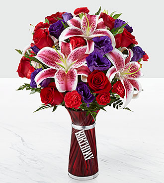 Le bouquet Birthday Wishes&trade; de FTD<sup>®</sup> - VASE INCLUS