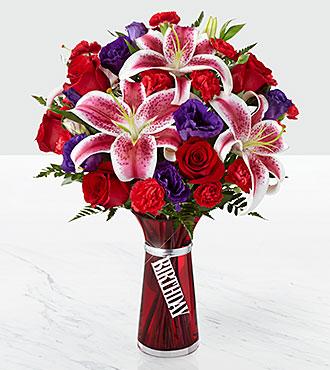 Le bouquet Birthday Wishes&trade; de FTD<sup>®</sup> - VASE INCLUS