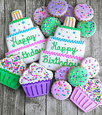 Happy Birthday Gourmet Cookies