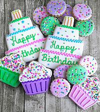 Happy Birthday Gourmet Cookies