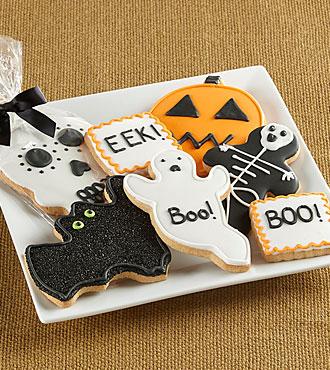 Boo-tastic Halloween Gourmet Cookies