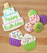Happy Birthday Gourmet Cookies-GOOD