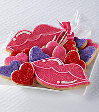 Valentine's Day Cookie Kisses Gourmet Sugar Cookies