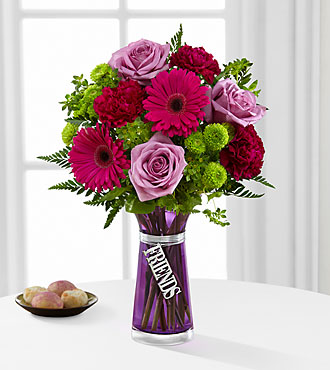 The FTD® Friends Bouquet - VASE INCLUDED