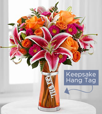 The FTD® Get Well Bouquet- VASE INCLUDED