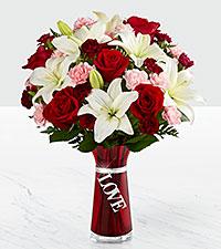 Le bouquet Expressions of Love - VASE INCLUS