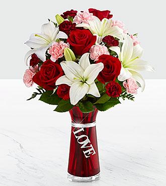 Le bouquet Expressions of Love de FTD<sup>®</sup> - VASE INCLUS