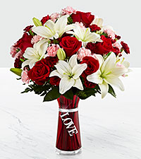 The FTD® Expressions of Love Bouquet - VASE INCLUDED
