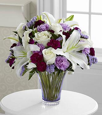 Le bouquet Thinking of You<sup>&trade;</sup> de FTD® - VASE EN VERRE TAILLÉ INCLUS