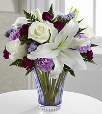 The Thinking of You™ Bouquet by FTD® - CUT GLASS VASE INCLUDED